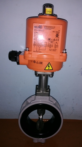 Motorized Butterfly Valve in  New Area