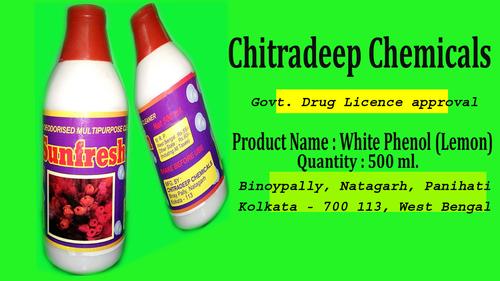 Sunfresh White Phenyle 500 ml