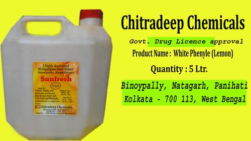 Sunfresh White Phenyle 5 Litters Jar