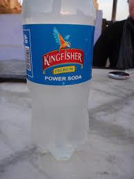 Drinking Power Soda