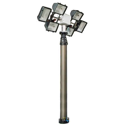 9m Vertical Mount Pneumatic Telescopic Mast Lighting Towers