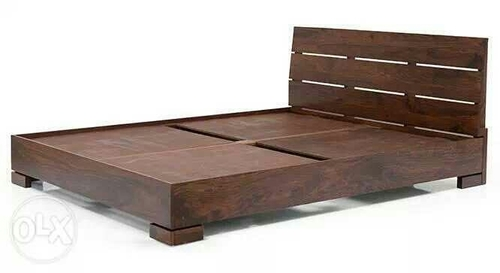 Queen Size Teak Wood Double Cot In Mth Road Chennai