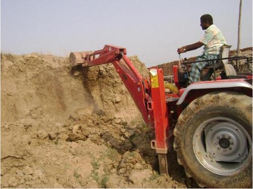 Backhoe Loader For Soil And Sand Industry