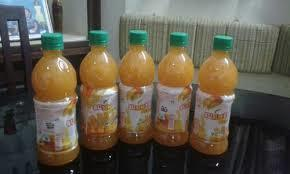 Mango Soda Soft Drink