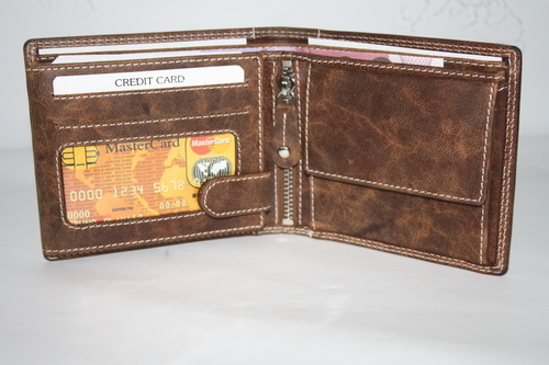 Mens Leather Wallets NSL/103 in  C.N. Roy Road