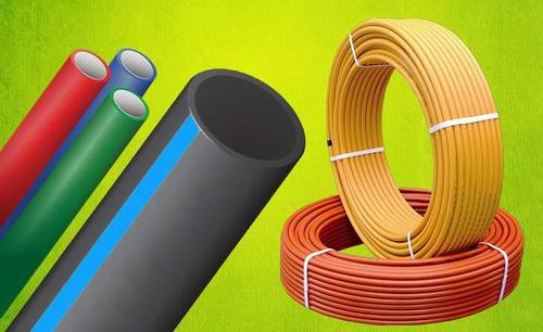 Colored Hdpe Pipes in  Sarna Dungar