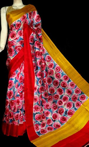 Hand Painted Silk Sarees in  Ballygunge Terrace