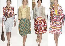 Summer Fashion Uz Adras Silk Ikat