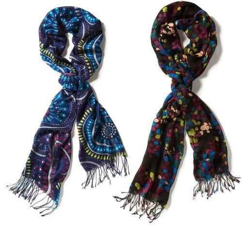 Designer Ladies Scarves in   Peerbatwan