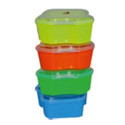 Plastic Tiffin Boxes in  Ashok Market