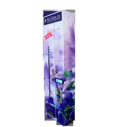 Automatic Slim Sanitary Napkin Vending Machines in   Old Bus Stand Back Side