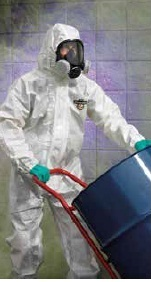 Chemical Protection Suit in  2-Sector