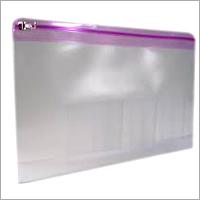 Plastic Shopping Zipper Bag