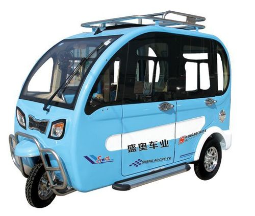 Q8D Electric Cars in   Jindong Industrial Park