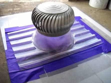 Industrial Turbine Ventilator in  24-Sector