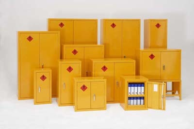 Solvent Storage Cabinets Idea