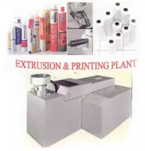 Copper Bottle Extruison Press