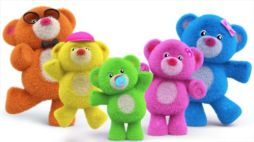 Finger Family Teddy Bear