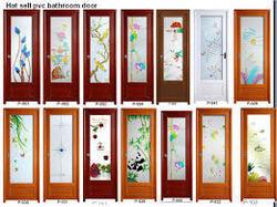 Decorative PVC Door in  New Area