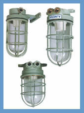 Marine Watertight Deck Well Glass Pendent Light Fittings