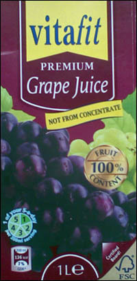 Vitafit Grape Juice in  Machnowerstr. 70