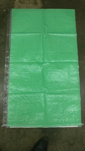 Laminated Green Colour 50 Kg PP Woven Bags in  Magadi Road