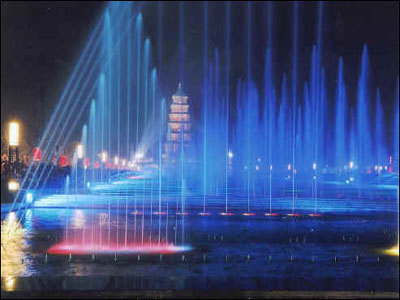 Water Musical Fountains