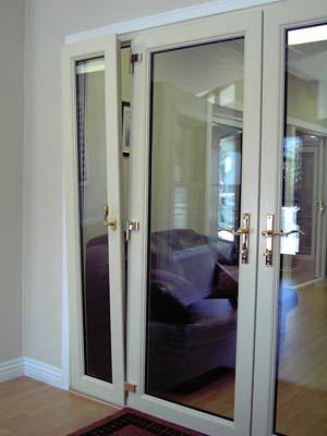 Tilt And Slide Doors - Inside