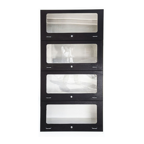 Stainless Steel Glass Cabinet