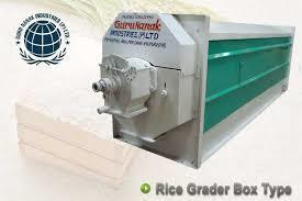 Rice Grader Box Type
