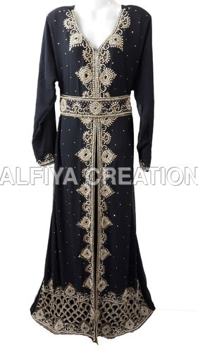 Takchita Moroccan Wedding Kaftan Dress in  Powai
