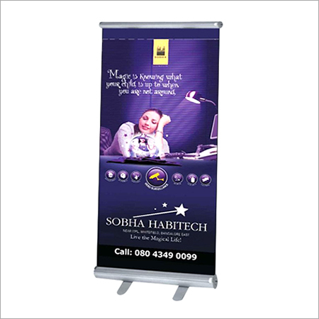 Roll Up Advertising Standee in  4-Sector - Dwarka