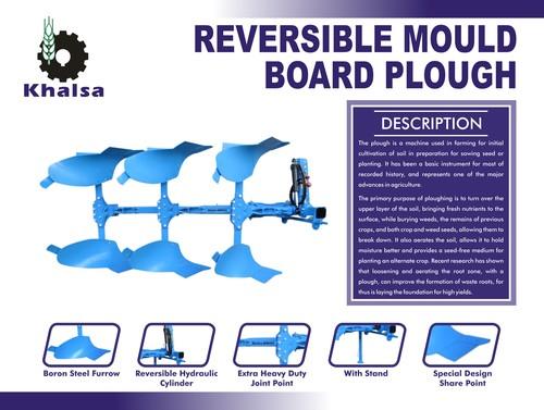 Reversible Mould Board Plough in  Baghpat Road