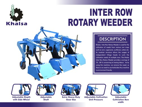 Tractor Mounted Rotary Weeder in  Baghpat Road