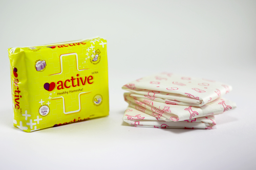 Active Ultra Sanitary Pads