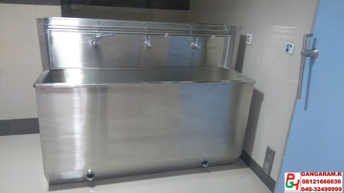 Stainless Steel Scrub Sink in  Kushaiguda