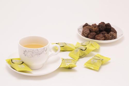 Candied Tea Plum