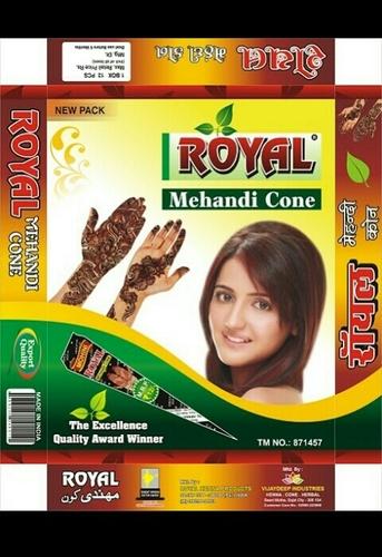 Royal Henna Cones