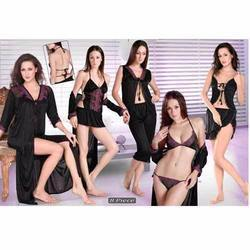 Eight Pcs Ladies Nighty