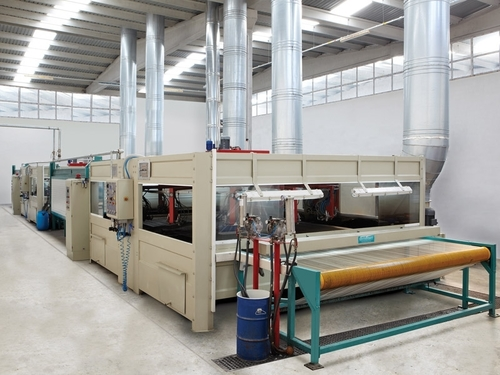 Rotary Spraying Machine For Leather