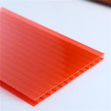Red Polycarbonate Plastic Sheets in   Dist.