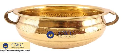 Brass Urli Water Pot Container 3500 Ml