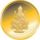 Lakshmi Ji Gold Coin 24k 5 Gram