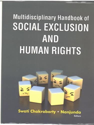 Multidisciplinary Handbook Of Social Exclusion And Human Rights Books in  Prem Nagar - Nangloi