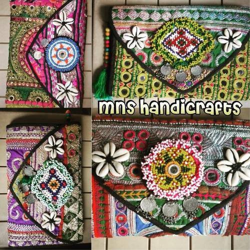 Ladies Banjara Afghani Clutch Bags in  Sukhdev Vihar