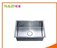 Handmade Kitchen Single Bowl Stainless Steel Sink Hd6545h  in   Xinhui