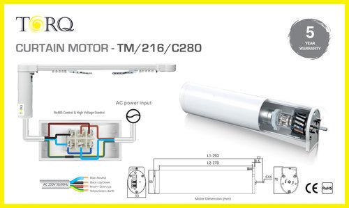 Automatic Curtain Motor TM/216/C280 in  Satellite
