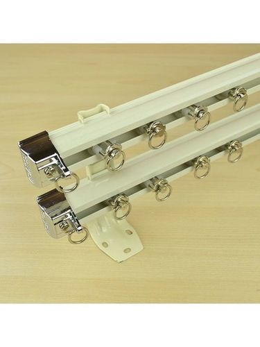 Double Curtain Track Rail in  Satellite