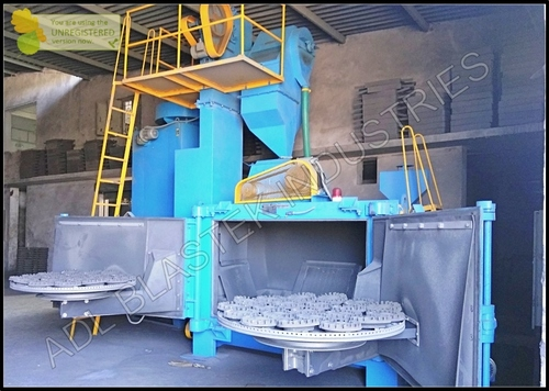 Swing Table Type Shot Blasting Machines in  Sangariya Indl. Area