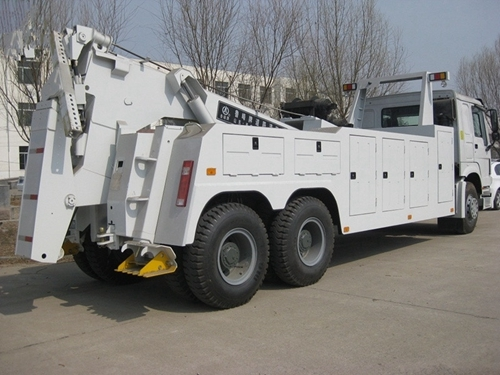 Integrated Tow Truck Road Recovery Wrecker